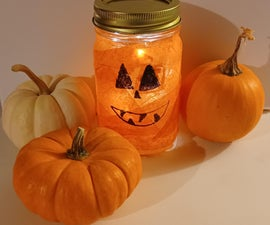 DIY Pumpkin Lantern