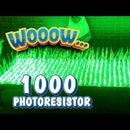 Building Interactive LED Art Using 1000 Photoresistors