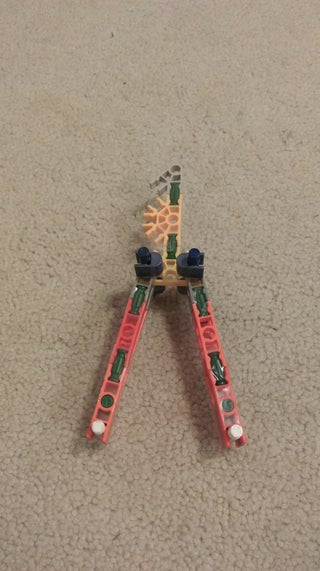 Knex Balisong (Butterfly Knife)