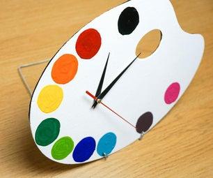 DIY Paint调色板|简单与有趣的艺术主题项目
