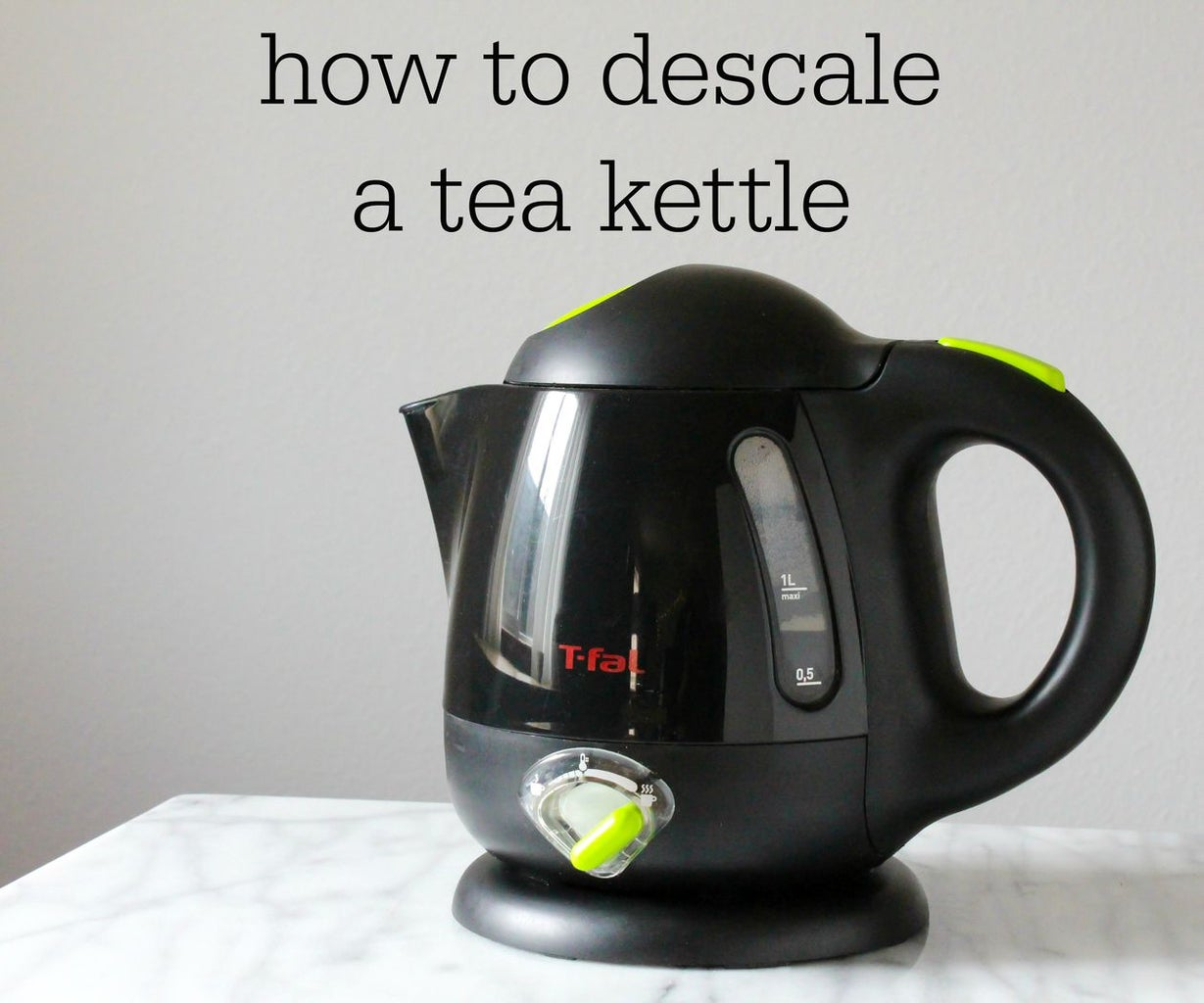 How to Descale a Tea Kettle
