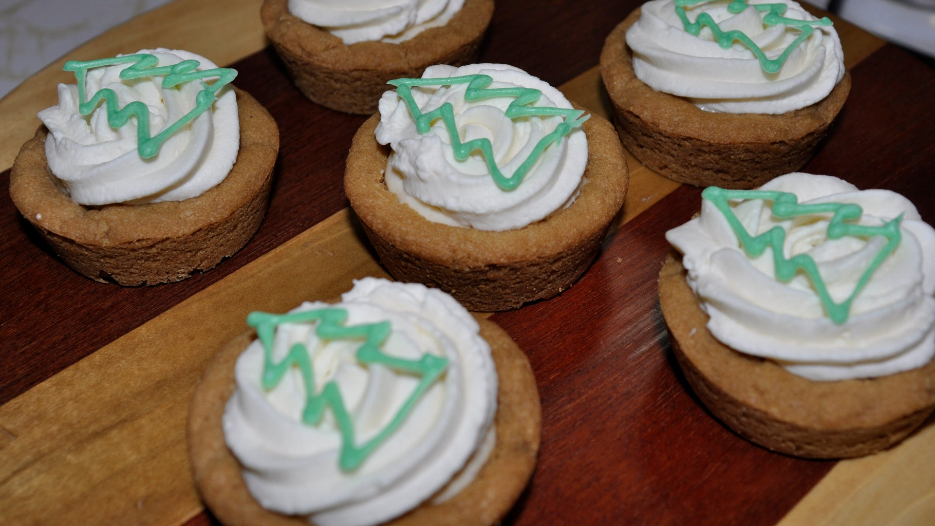 """""""Someone Spiked the Eggnog!"""" Cookie Cups"""