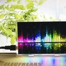 DIY: LED Music Frequency Spectrum Display Kit