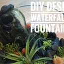 Easy DIY Desk Waterfall Fountain