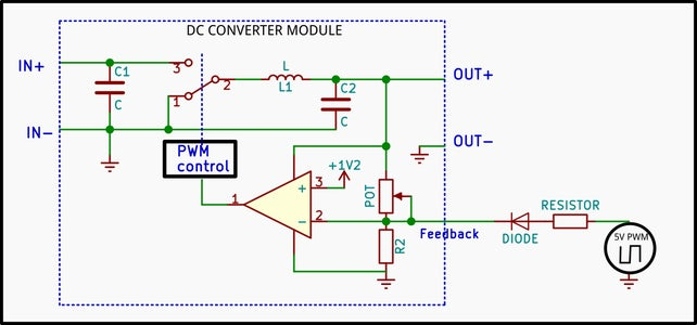 How the Output Voltage Is Controlled by a Pot