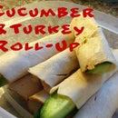 Turkey Cucumber Roll Up