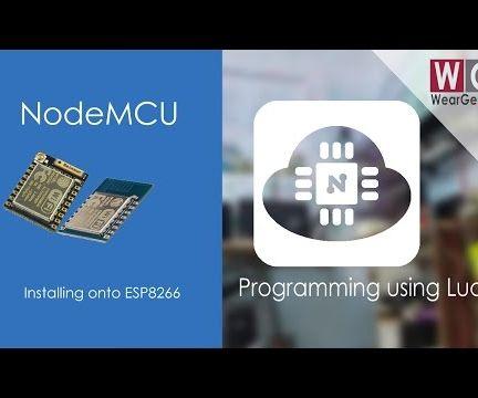 Flash NodeMCU firmware to ESP8266