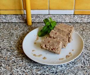 Frozen Walnut Cinnamon Mousse