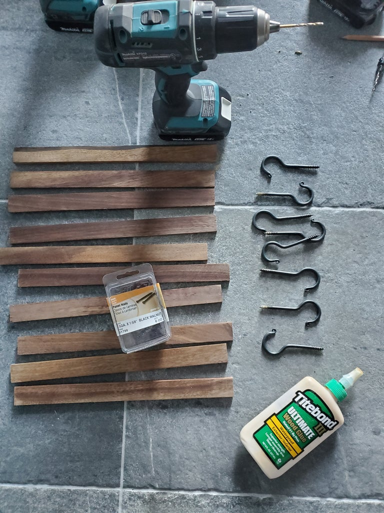 Supplies: Materials and Tools