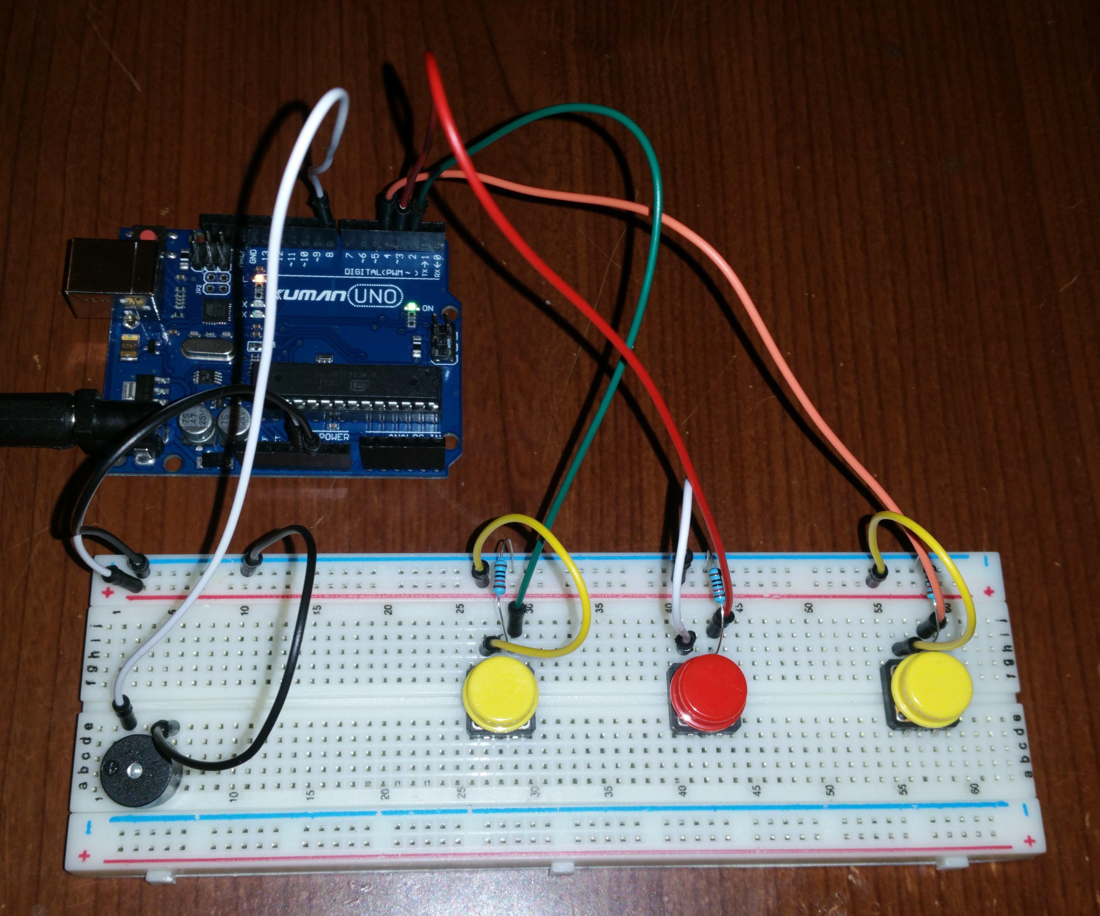 Simple Arduino Sound Board