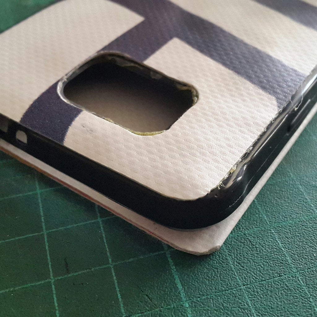 Glue Back to Rubber Case