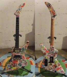 Sticker Bomb Guitar!