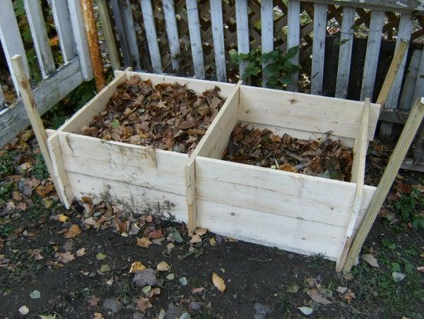 Twin Compost Bin