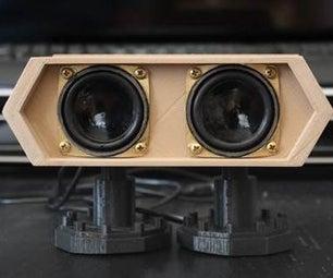 音频扬声器改造:DIY(融合360)
