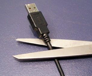 USB Cord Shortening