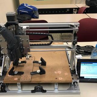 Creación Diseño E Implementación De Fresadora CNC