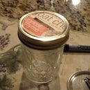 Easy Ball Jar Makeover/ Simple Coin Bank
