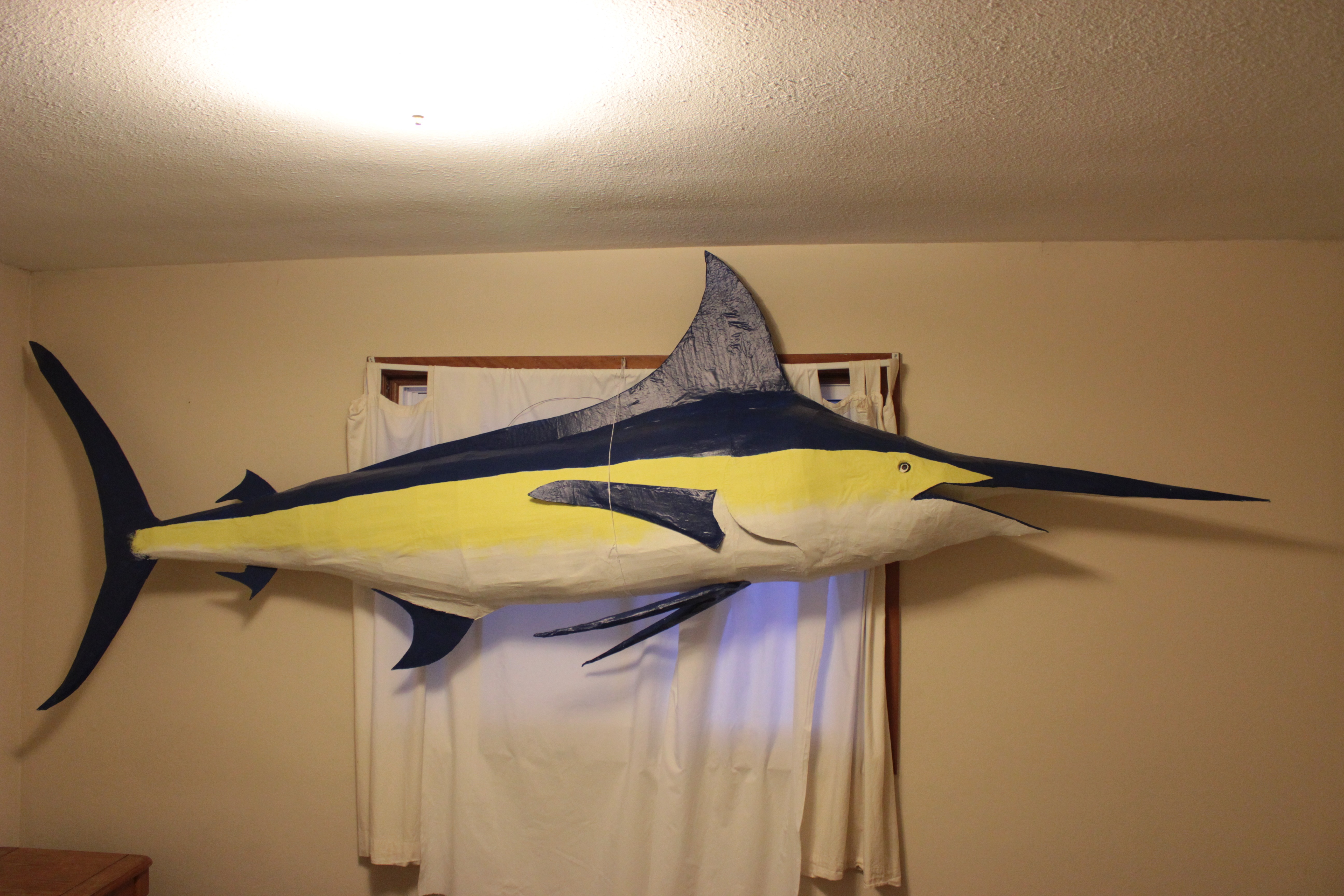 HOW TO BUILD YOUR OWN GIANT BLUE MARLIN ON THE CHEAP