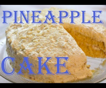 Ultimate Pineapple Cake