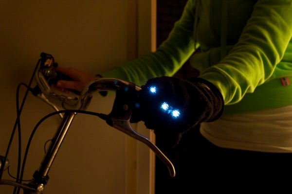 How to Make a Bike Light Glove