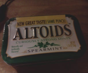 How to Make a Basic Speaker System That Fits in an Altoids Tin