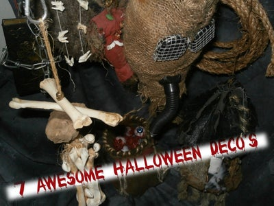 7 Awesome Halloween Deco's