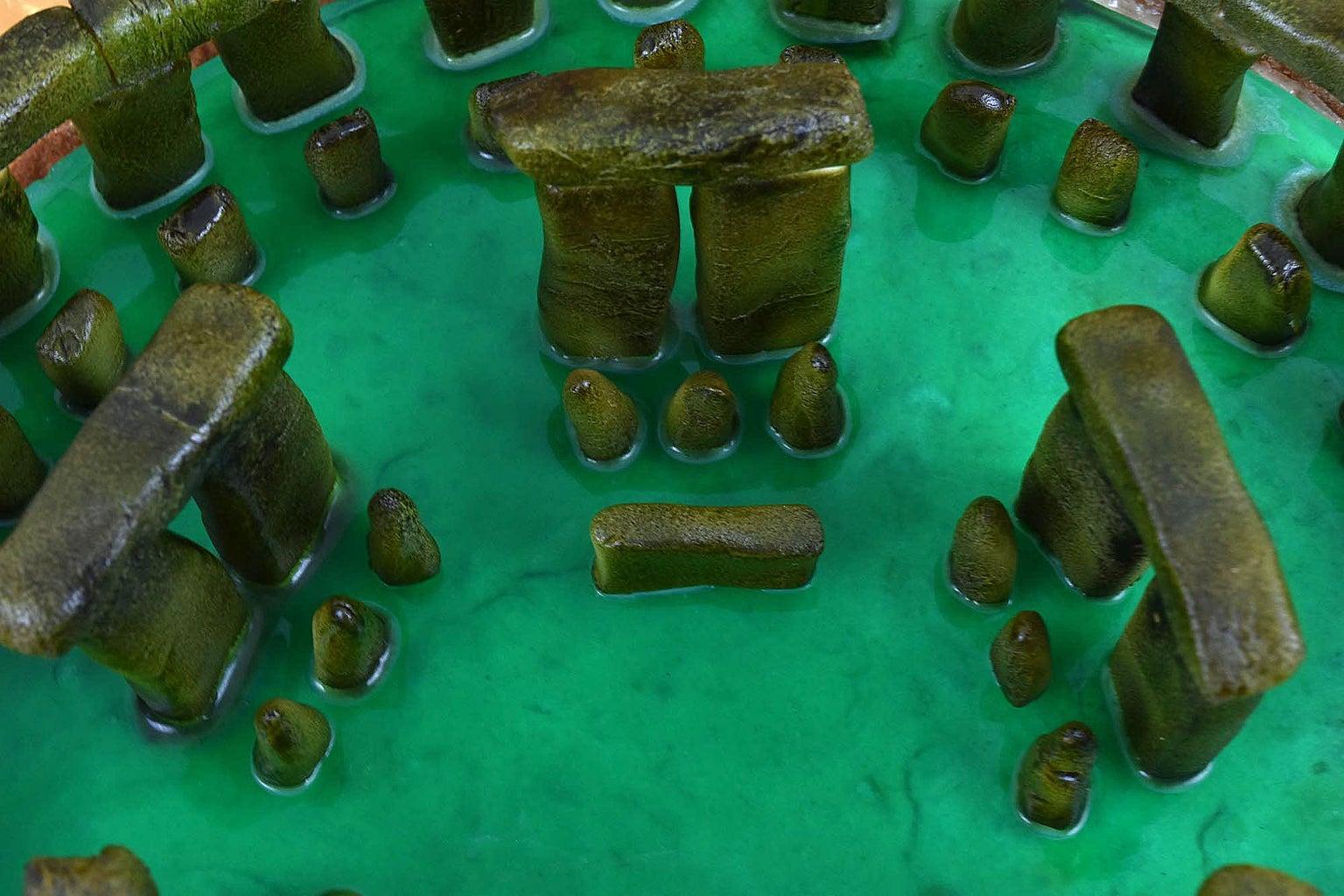Stonehenge Pastiera Pie - Result