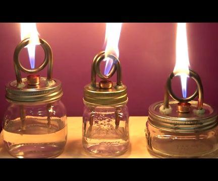 DIY Alcohol Stove Burner