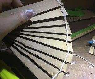 Cardboard  Foldable Handheld Fan.