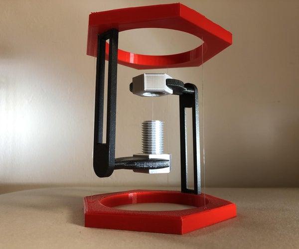 Bolt-Nut - Tensegrity - 3D Printed