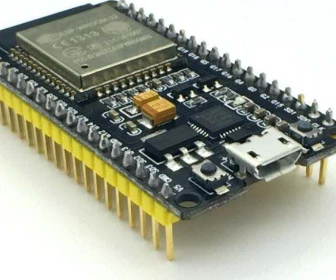 ESP32 Interface With SSD1306 Oled With MicroPython