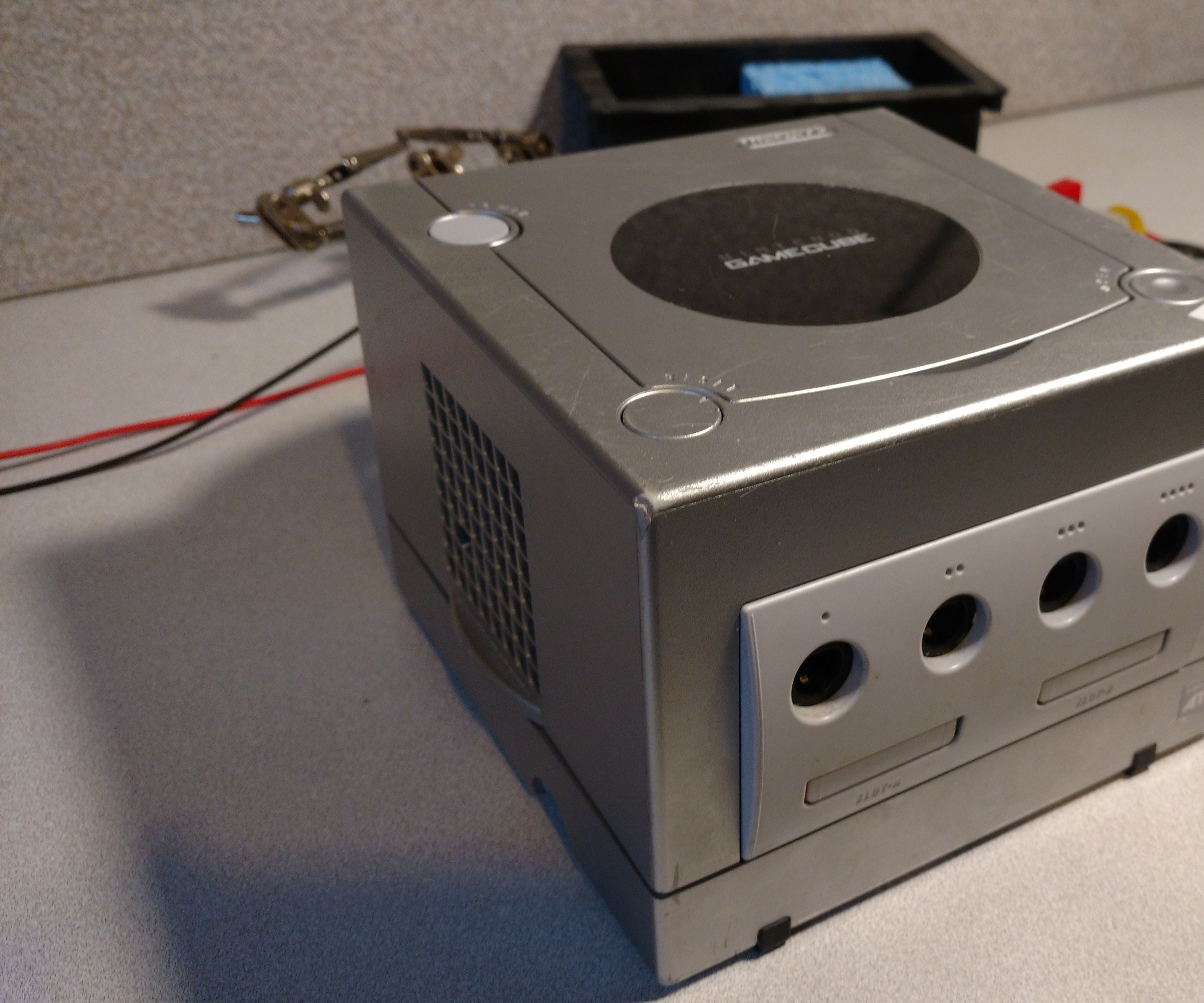 Retropie Gamecube case Project
