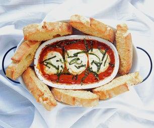 Easy & Impressive! Goat Cheese Tomato Basil Dip W/ Trader Joe Ingredients