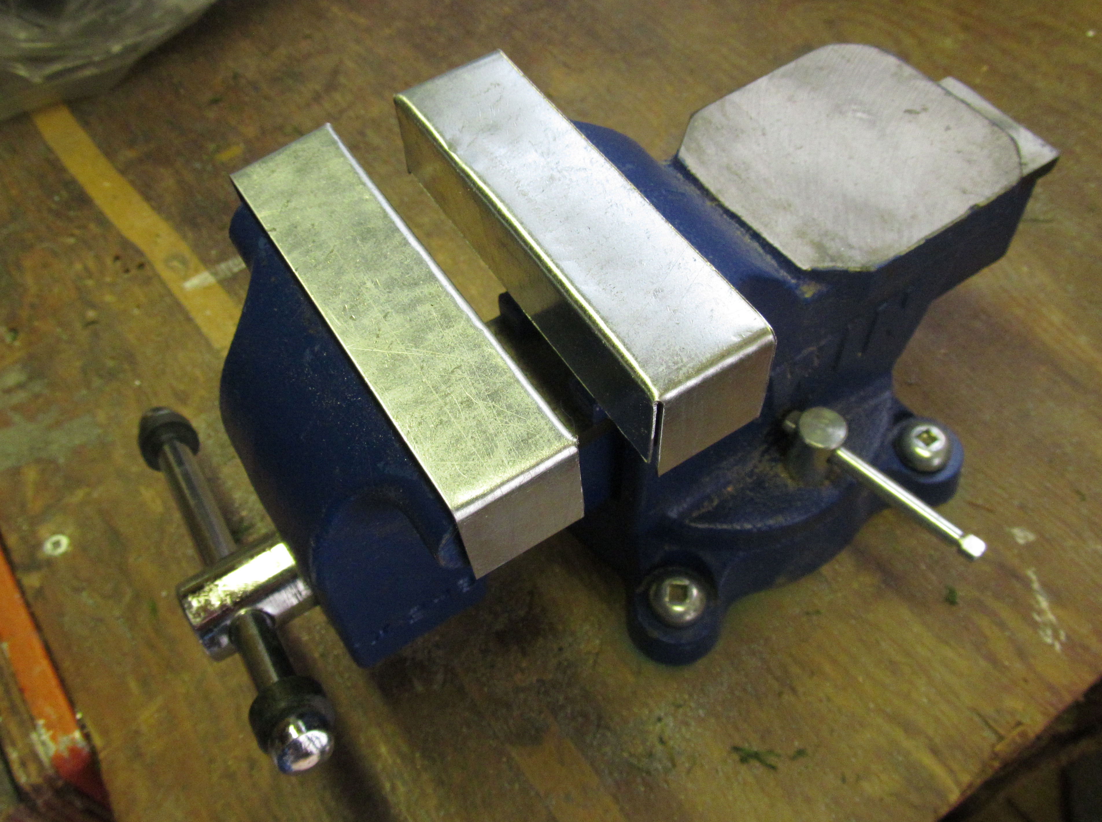 Slip-On Soft Jaws for a Vise