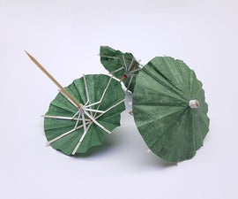 DIY Cocktail Umbrellas