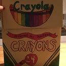 Super Sized Crayon Storage Box