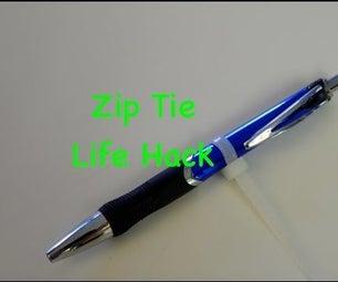 Zip Tie Life Hack