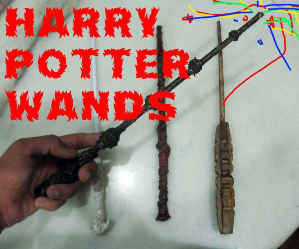 How to Make Harry Potter Wands