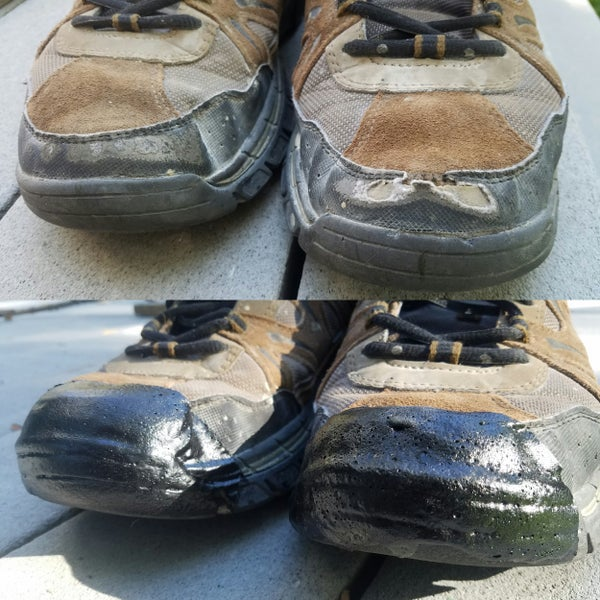 Fix Toe Shoe Holes Cheap & Easy