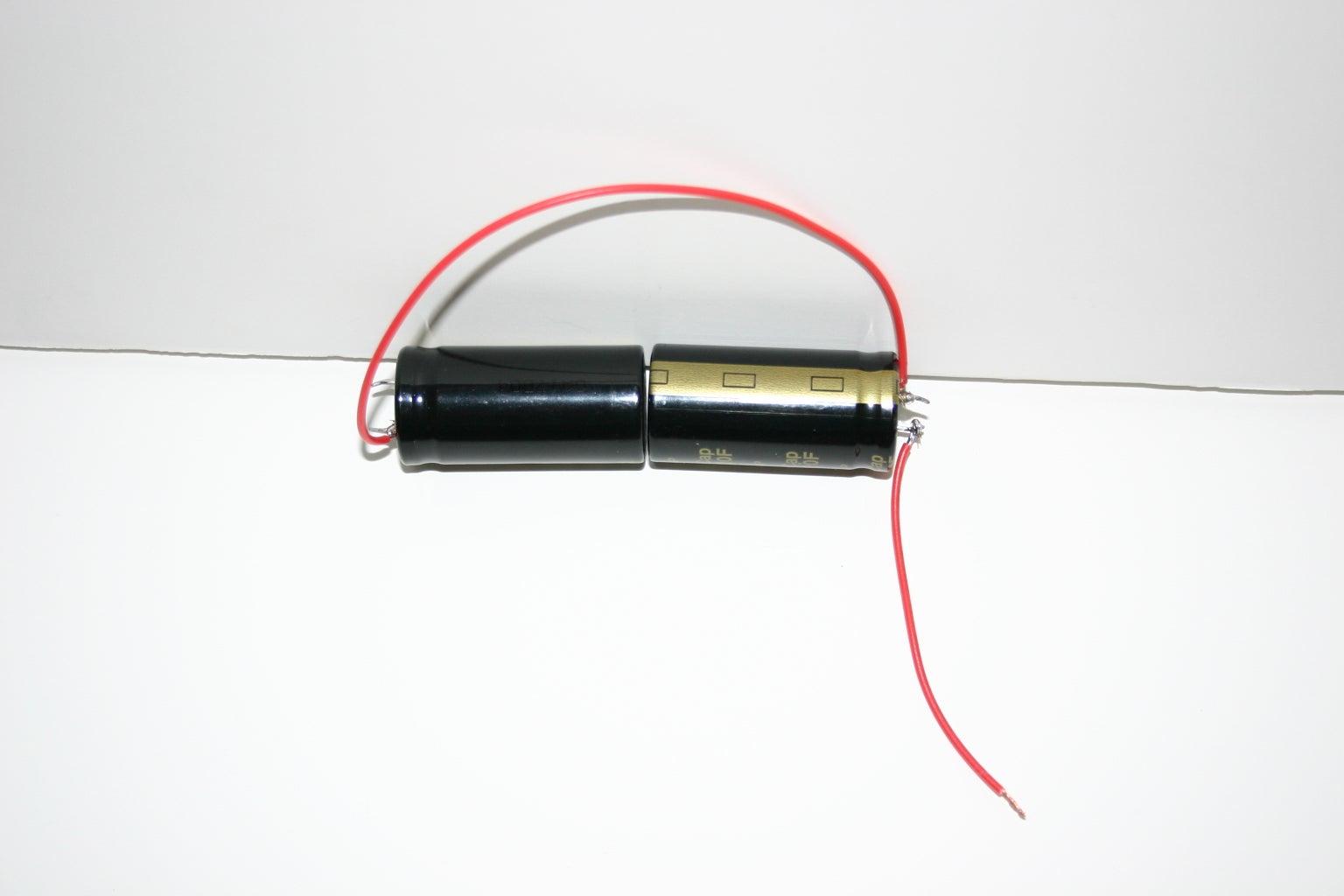 Solder Wire to (+)