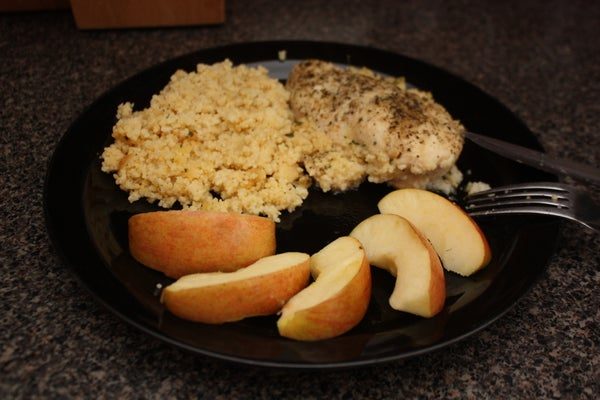 Montreal Baked Chicken Breast With Couscous