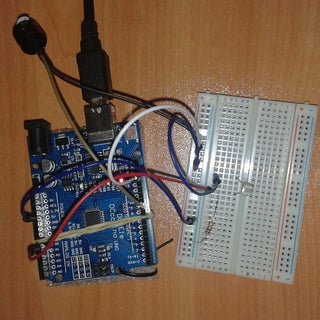 Buzzer Alarm Using LDR and Arduino