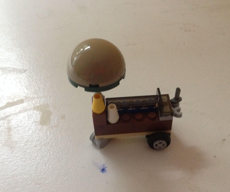 Lego Ice Cream Cart