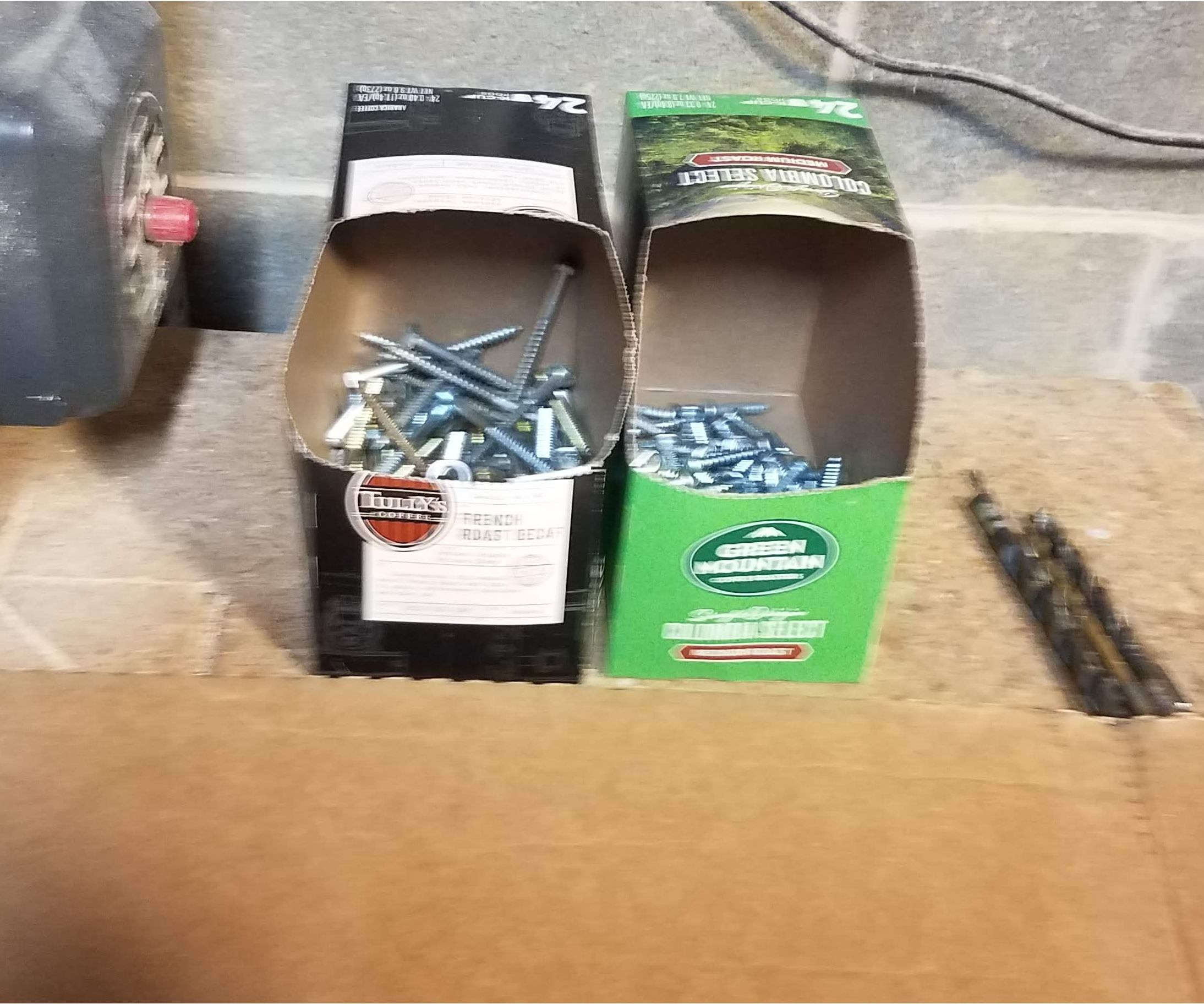 Upcycle the Shipping Coffee Packets Into Storage Bins