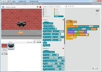 Introducing to Graphical Programming Tool-mBlock