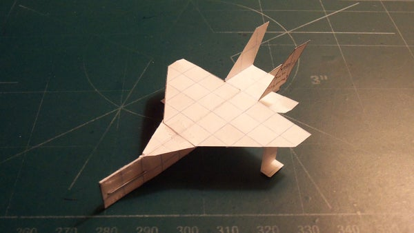 How to Make the Turbo SkyHornet Paper Airplane