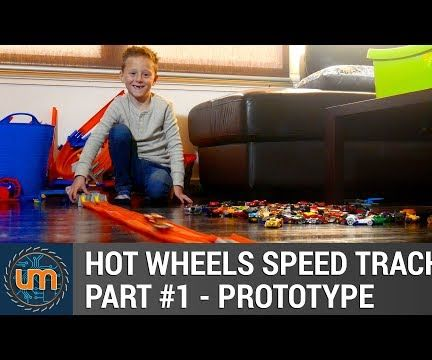 Arduino Hot Wheels Speed Track - Part 1 - Prototype