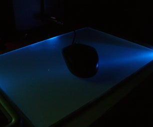 Glowing USB Mousemat