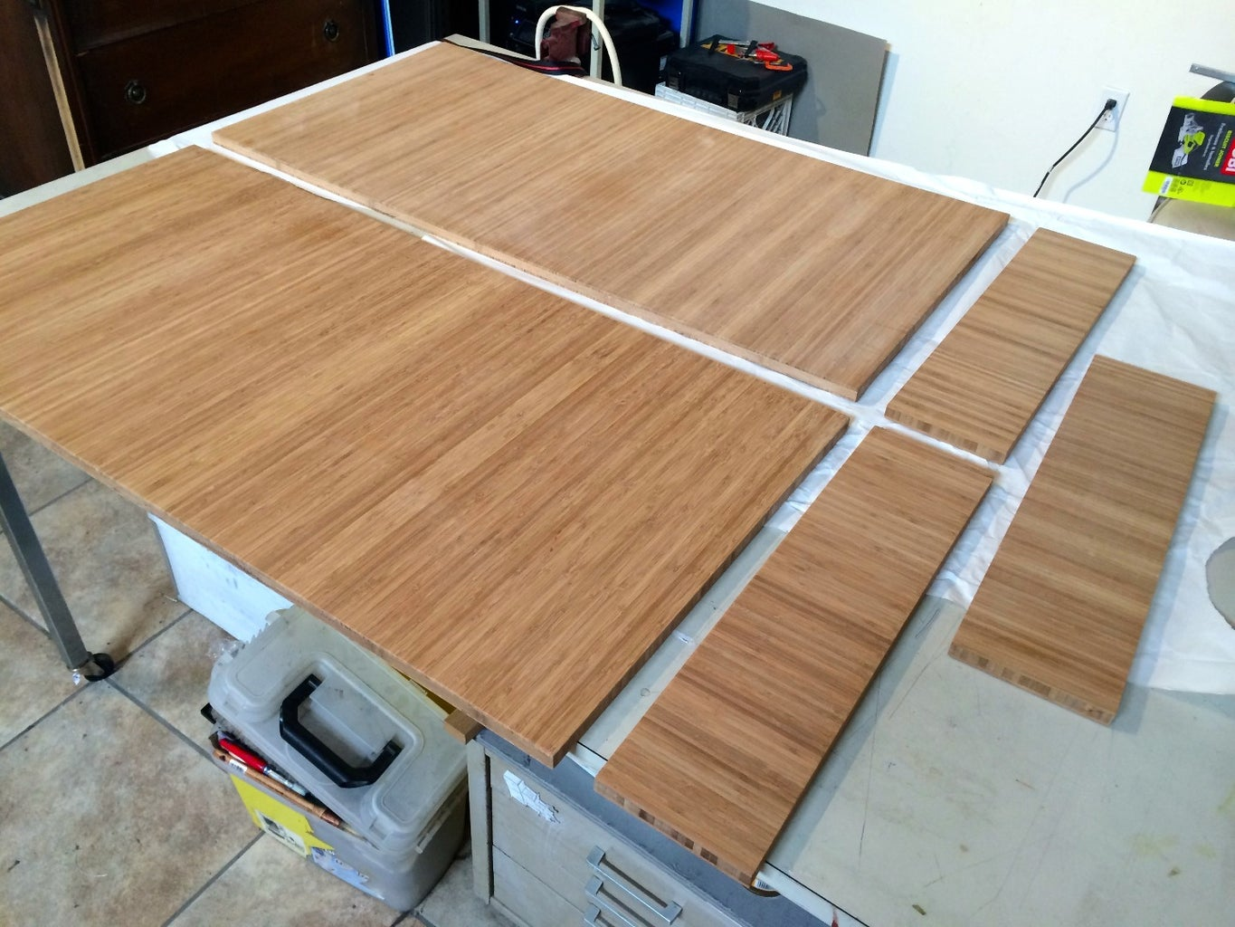 Cut Plyboo to Size on Table Saw