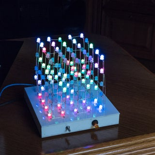 Make Your Own SIMPLE 5x5x5 RGB LED Cube